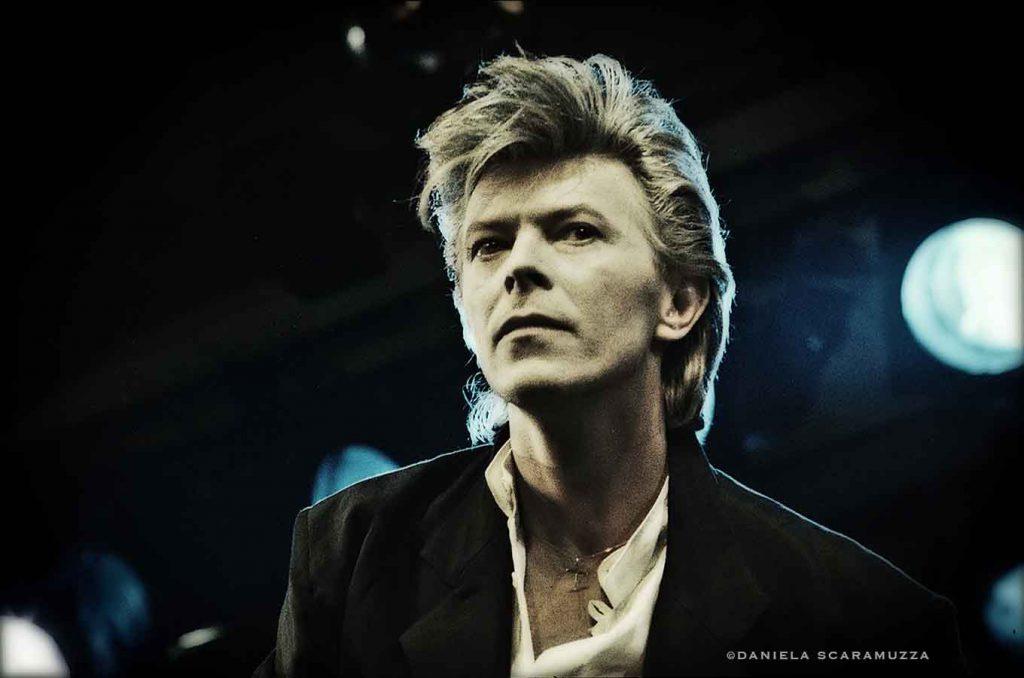 David Bowie - Photo by Daniela Scaramuzza