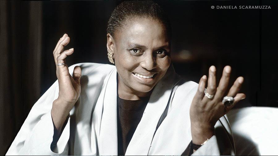 Miriam Makeba - Photo by Daniela Scaramuzza