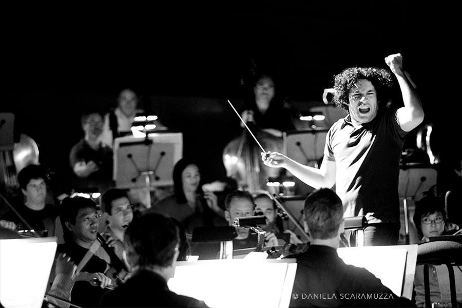 Gustavo Dudamel - Photo by Daniela Scaramuzza