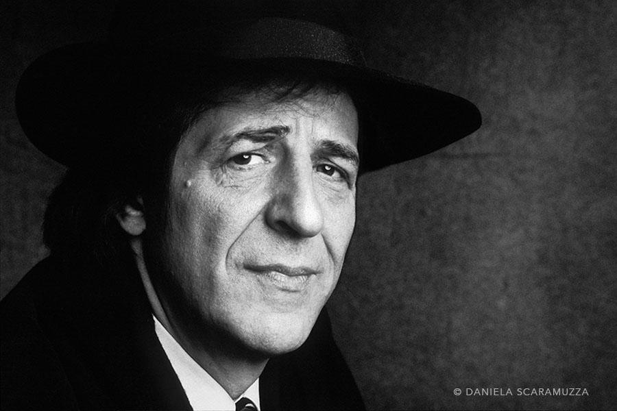Giorgio Gaber - Photo by Daniela Scaramuzza
