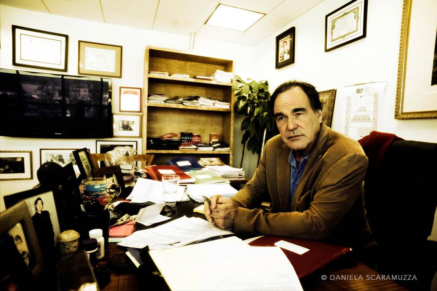 Oliver Stone - Photo by Daniela Scaramuzza