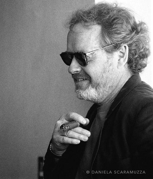 Ridley Scott - Photo by Daniela Scaramuzza