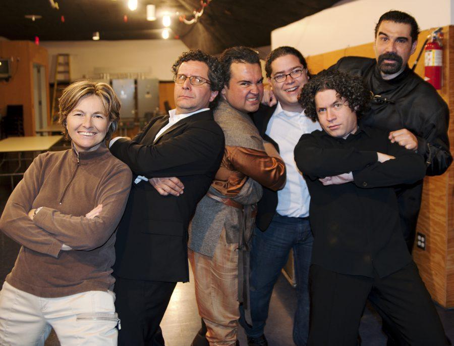 Daniela Scaramuzza - Director Alberto Arvelo - Gustavo Dudamelo -