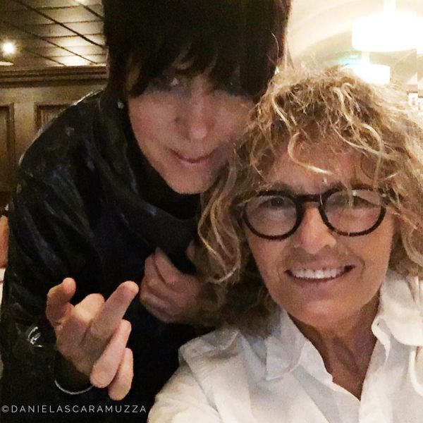 Diane Warren with photographer Daniela Scaramuzza